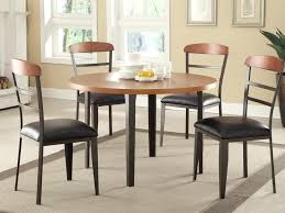 ... Cheap Dining Table Ikea Set Malaysia Kitchen Chairs Black Cushions  Wooden Floored Room Round And ...