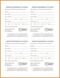 pledge card template