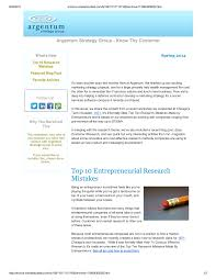 marketing newsletter marketing tips argentum strategy group 2014 spring newsletter an overview of the basic how to research