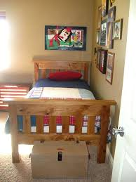 simple bed plans. White Simple Bed Full Size Projects This Rustic Design Can Work In Both A  Girls Or . Build Frame Plans D