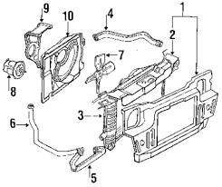 Genuine ford upper hose for f23z8260c