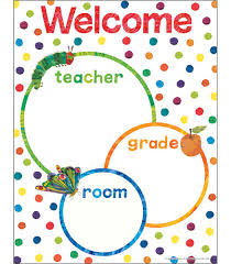 Welcome Chart Images World Of Eric Carletm Welcome Chart Carson Dellosa