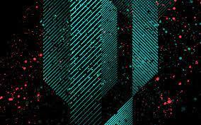 vu37-dark-art-minimal-pattern-blue ...
