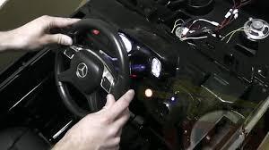 <b>Детский электромобиль Mercedes Benz</b> G63 LUXURY 2.4G часть 2