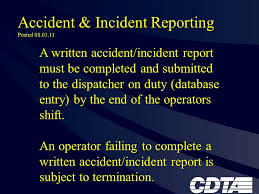Flexible Services Inotice Board Accident Incident