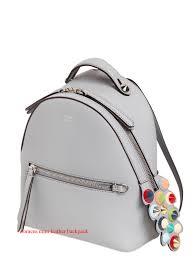 designer leather backpack womens
