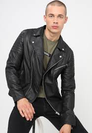 jcotulsa jacket leather jacket black