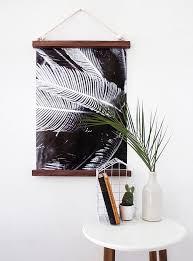 Small Picture DIY Hanging Half Frame DesignSponge Hanging frames Paint