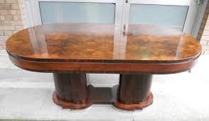 oval dining table art deco: italian art deco dining table mid century furniture