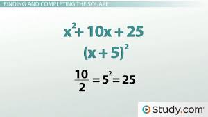 how to complete the square