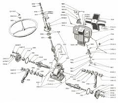 Steering gear related parts ford 8n after serial number 216988