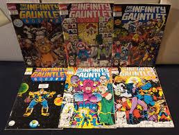 infinity gauntlet 1. infinity gauntlet 1-6 (marvel comics- thanos warlock) full run! 1
