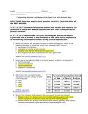 bio evolution and diversity of life valdosta state 4 pages attachment 1 prepost test mitosismeiosis answer key