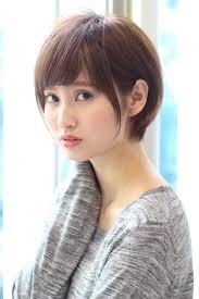 暗髪 前髪あり ショート 小顔gardenharajuku 高橋苗 236432hair
