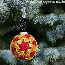 Crochet Christmas Ornaments Patterns Unique 48 Cute Free Christmas Ornament Crochet Patterns