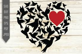 Choose from over a million free vectors, clipart graphics, vector art images, design templates, and illustrations created by artists worldwide! Love Birds In Heart Graphic By Mint And Beer Creations Creative Fabrica