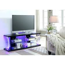 painted tv stand collection coffee table and set free lack only led in white clear glass
