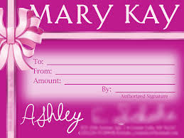 kay gift certificate template mary