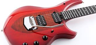 I suspect it might be some stress on the finish but it seems quite common on majesties. Music Man John Petrucci Majesty 2019 Red Sunrise Solid Body Electric Guitar Red