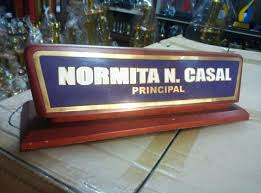 office desk name plates table and signs maker in the awards glass real wood home furniture custom