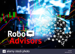 Cyber Communication And Robotic Concepts Robo Advisor