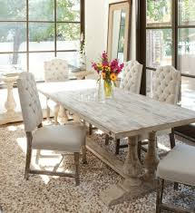 interesting white rustic dining table 7 dining room cool