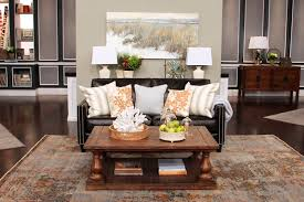 interior impressive living room decorating ideas with dark brown sofa astonishing leather loveable 10
