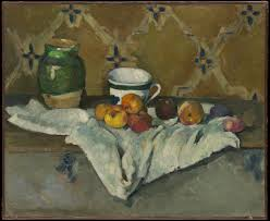 file paul cézanne still life with jar cup and apples jpg