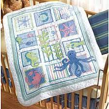 Baby by Herrschners® Owl Love You Baby Quilt Stamped Cross-Stitch ... & This is the cross stitch baby blanket that I am doing. Adamdwight.com