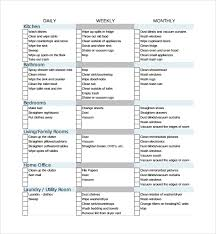 Free 11 House Cleaning Checklist Templates In Pdf Doc