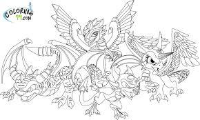 Ninjago Dragon Coloring Pages Color Bros