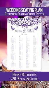 Poster Seating Charts For Wedding Receptions Wedding Reception Seating Chart Poster Ideas Plans