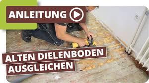 Hier gibt es dir passenden spachtelmasse & fertigspachtel für ihre arbeiten. Alten Dielenboden Holzboden Ausgleichen Youtube