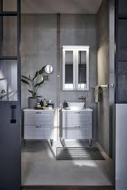 Badezimmer Grau