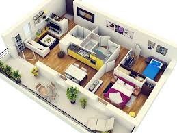 Home Design   Studio Apartment Design Floor Plan Small - Studio apartment floor plans 3d