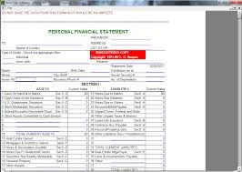 Pnc Bank Personal Financial Statement Form Financial Statement Form ...