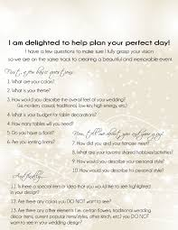 event planning questionnaire wedding planner questionnaire miss to mrs pinterest wedding