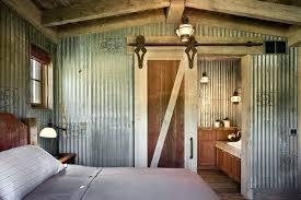 corrugated metal ceiling in bathroom corrugated metal