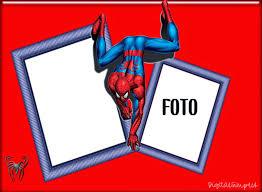 spiderman birthday frame 4