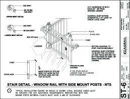glass railing detail railing details a stair rail detail stair glass railing details railing details glass railing detail