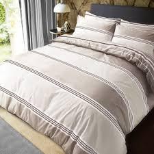 luxury banded stripe natural duvet set reversible quilt cover bedding super king size 261887 p5578 15312 image jpg