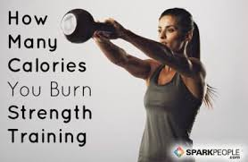 many calories does strength