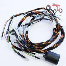 ferguson wiring loom antique tractor parts accs massey ferguson wiring loom harness mf240 alternator model