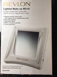 revlon lighted makeup mirror