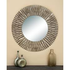 litton lane contemporary 41 in fluted framed mirror contemporary mirrors n24 contemporary