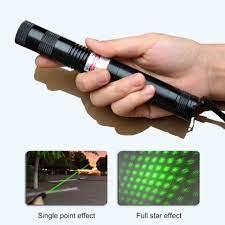 Chiclits LED Đèn Pin Laser 1000 MW 303 Xanh Công Suất Cao Cấp Đèn Pin Laser  LED Đèn Ngủ Có Pin 18650|Flashlights & Torches
