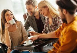 drinking coffee with friends. Modren Friends And Drinking Coffee With Friends G