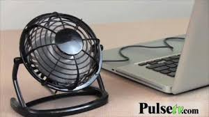 USB Retro Cooling Desktop Fan - YouTube