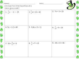 algebra 1 equations worksheets collection of 2 step equations worksheet them and try to solving