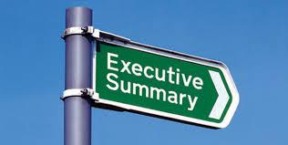 Executive Summary How To Write A Really Good Executive Summary Here Are Some